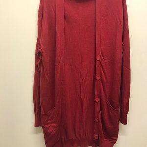 Moda International Cashmere/Silk Cardigan